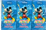 Disney Mickey Mouse ClubHouse Pocket Tissues (6-Pack), Three Each of 2 Views
