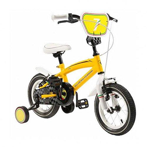 """SCUDERIA FERRARI Bicicletta Kid Team 14 Yel YEL 14"""""""