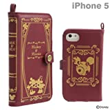 Disney Characters Old book iPhone 5/5S/5C Case (Mickey & Minnie /Burgundy)
