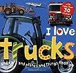 I Love Trucks Sticker Book (I Love Sticker Books)