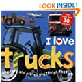 I Love Trucks Sticker Book