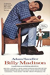 Amazon.com : BILLY MADISON MOVIE POSTER 1 Sided ORIGINAL ...