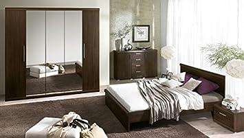 Schlafzimmer komplett 5428 4-teilig sonoma eiche dunkel