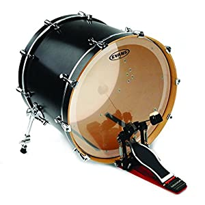 amazoncom evans eq4 clear bass drum head 16 inch