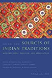 img - for Sources of Indian Traditions: Modern India, Pakistan, and Bangladesh (Introduction to Asian Civilizations) (Volume 2) book / textbook / text book