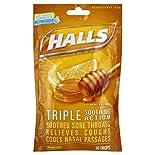 Halls Cough Suppressant/Oral Anesthetic, Menthol, Honey-Lemon, 30 drops