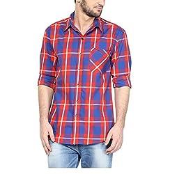 Yepme Men's Multi-Coloured Cotton Shirts - YPMSHRT1134_42