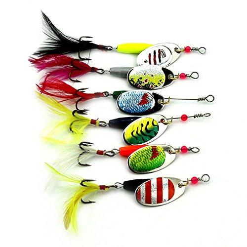 Melip bass and trout annihilator spinner fishing lure kit for Bass fishing kit