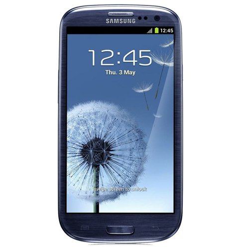 Link to Samsung G-SAM-I9300-16GB-BLUE Galaxy S III 4G Unlocked Phone with 8MP Camera, 4.8-Inch Touchscreen, 16GB Memory, Android 4.0 and GPS – No Warranty – Pebble Blue Big Discount