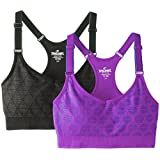 Spalding Women's Two-Pack Seamless Adjustable Cami Bra