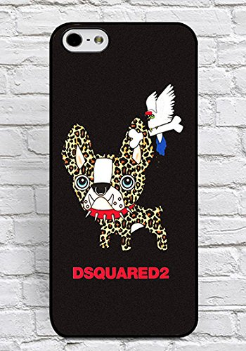 Iphone 6/6S Custodia DSQUARED Brand Logo Theme Print for Man, Unique Custodia Iphone 6/6S (4.7 Inch) Custodia Cover Slim fit Floralmaycase