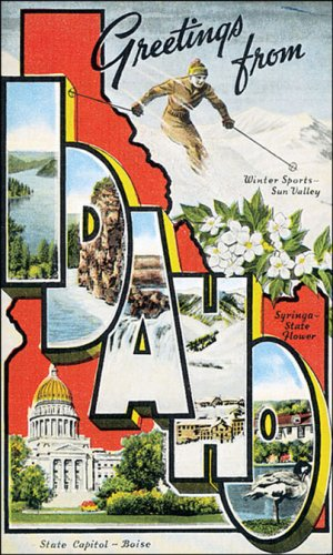 Greetings from Idaho Poster