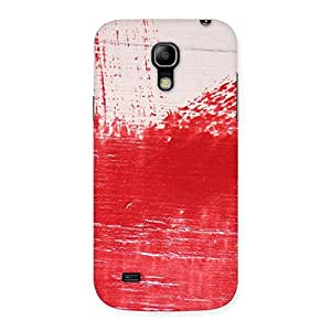 Red Fresh Texture Back Case Cover for Galaxy S4 Mini