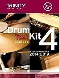 Drum Kit 4 - Pieces & Studies 2014-2019 Grades 7-8 (with CD)