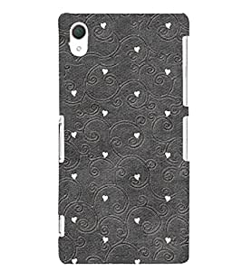 Classic Design 3D Hard Polycarbonate Designer Back Case Cover for Sony Xperia Z2