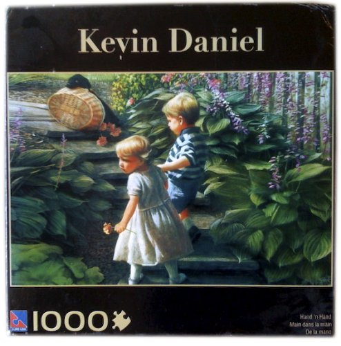 Kevin Daniel 1000 Piece Hand 'n Hand Puzzle