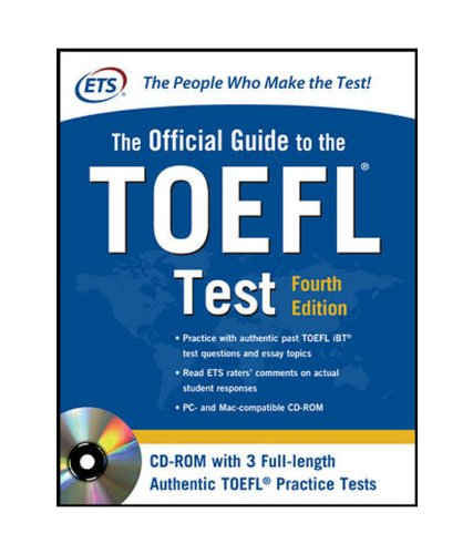 The Official Guide to the TOEFL Test With CD-ROM, 4th Edition Image