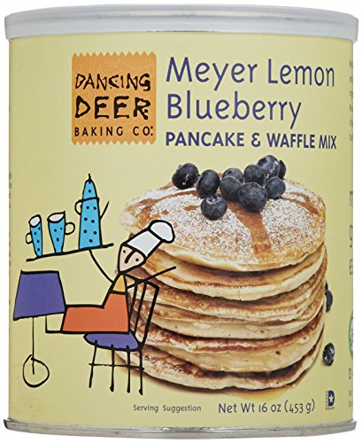 Dancing Deer Meyer Lemon Blueberry Pancake & Waffle Mix (Lemon Waffle Mix compare prices)