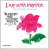 2014 Live With Intention Wall Calendar