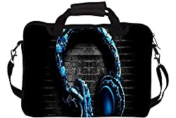 Rebel 15 x 11.5 inch Canvas Foamy Laptop Sleeve Case - Design no:12151