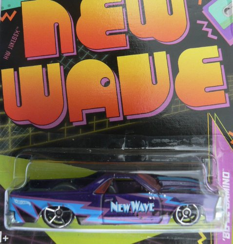 Hot Wheels Jukebox New Wave '80 El Camino Dark Purple #22/32