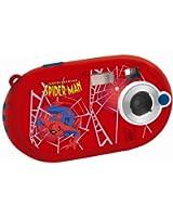 """Lexibook DJ028SP Spider-Man Appareil photo numérique 5 mégapixels, écran 3,6 cm (1,4""""), mémoire interne 8 Mo (Rouge, motif Spider-Man)"""