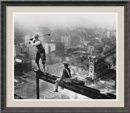 Tee Time By Bettmann Archive Framed front-671848