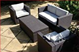 Rattan - Riviera Lounge Garden Furniture Set