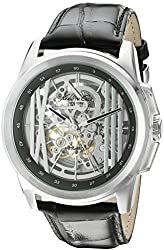 Kenneth Cole New York Men's KC8100 Automatic Analog Display Automatic Self Wind Black Watch