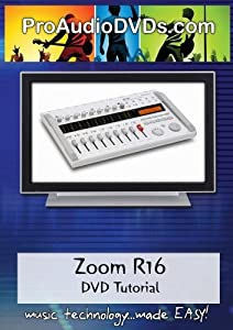 Zoom R16 DVD Video Tutorial Manual Help