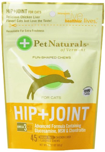 Pet Naturals Of Vermont 3-Pack Hip Plus Joint Fun-Shaped Chews For Cats