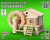 Roue a eau QUAY Kit de construction en bois FSC