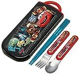 Sliding Trio Cars Cars 15 Disney Spoon, Fork, Chopsticks, Cutlery Set