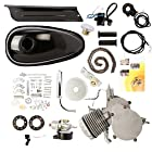 Sanven 2014 Brand New 80cc 2 Stroke Cycle Bike Bicycle Motorized Engine Kit Silver Motor Chrome Muffler
