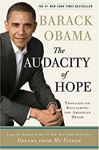 Cover of &quot;The Audacity of Hope: Thoughts ...