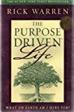 "THE PURPOSE DRIVEN LIFE: WHAT ON EARTH AM I HERE FOR? Pastor of Saddleback Church, a Southern Baptist mega-church in Ca with weekly attendance of more than 15,000, Warren applies his successful ""purpose-driven"" framework, to individual experience"