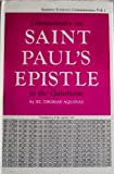 img - for Commentary on Saint Paul's Epistle to the Galatians (Aquinas Scripture Series, Vol 1) book / textbook / text book