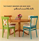 art wall decal for the home or kitchen dining room quote 48 w x 7