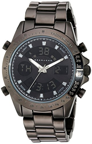 Sean-John-Mens-Classic-Quartz-Metal-and-Alloy-Casual-Watch-ColorGrey-Model-10030883
