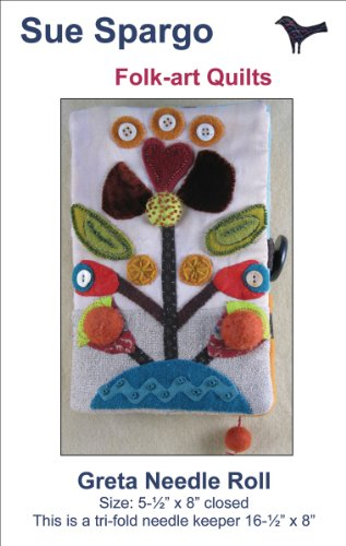 Sue Spargo Patterns-Greta Needle Roll 16