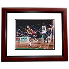 Detlef Schrempf Autographed Hand Signed 8x10 Indiana Pacers Photo MAHOGANY CUSTOM...