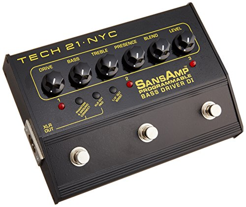 Tech 21 PBDR SansAmp Programmable Bass Driver DI