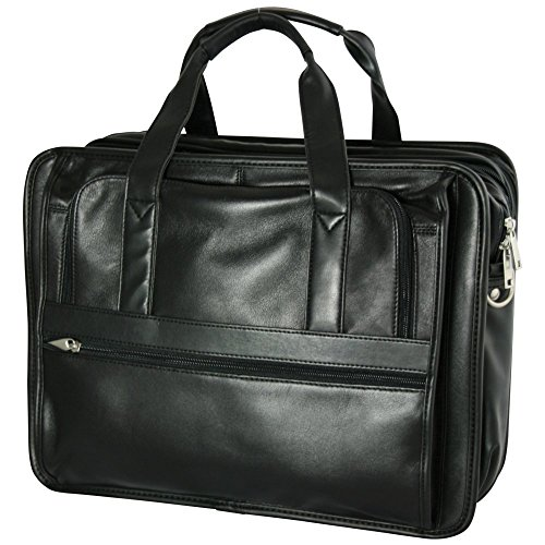 bellino-expandable-soft-briefcase-black