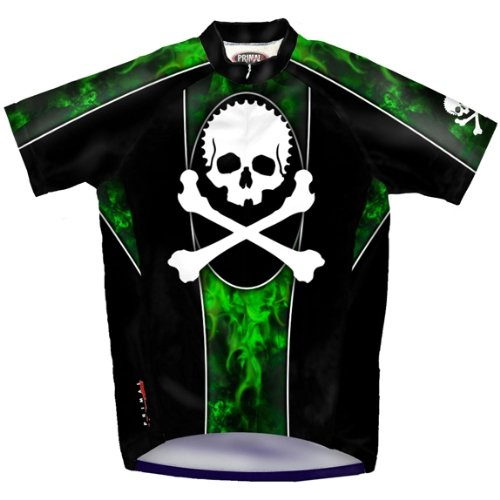 Buy Low Price Jolly Roger Cycling Jersey (B001IIQNX6)