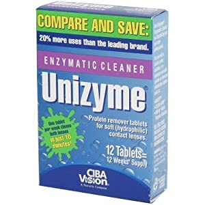 Unizyme Enzymatic Cleaner Tablets-12 ct