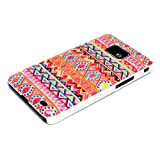 DeinPhone Zig Zag Pattern Case Cover Bumper for Samsung Galaxy S2 i9100 S2 PLUS i9105 S II - Orange