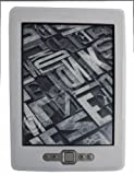 White/Clear Soft Silicone Skin Case Cover for Amazon Kindle 4G UK