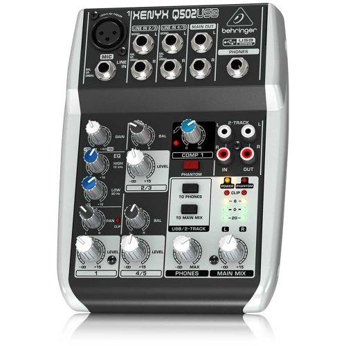 Behringer Q502Usb 5-Channel Mixer