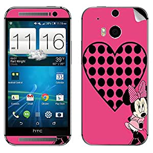 Theskinmantra Minnie Love HTC One M8 mobile skin