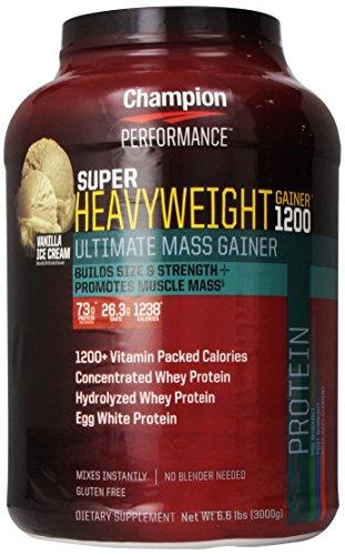 Champion Performance, Super Heavyweight, Vanilla Ice Cream flavor, 6.6 lbs